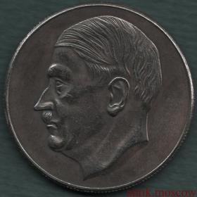 5 марок 1940 года Гитлер