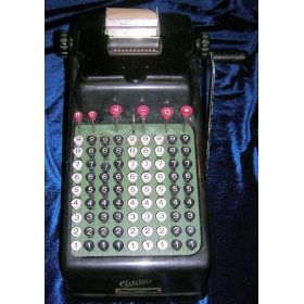 Винтажный калькулятор ADDO Mod. 7.