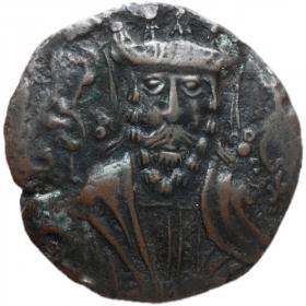 Древняя монета Артукидов Хисн-Кейфа