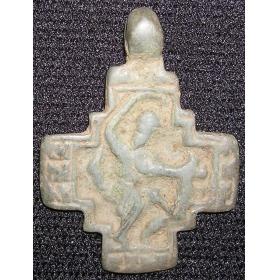 Крест Никита бесогон 15 век с квадратным средокрестием