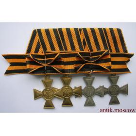 Полный георгиевский кавалер для иноверцев, с бантами - копия
