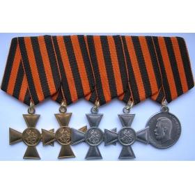 """Георгиевские кресты и 3 или 4 степень """"За храбрость"""""""
