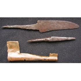 Ножик, стрела и ключ