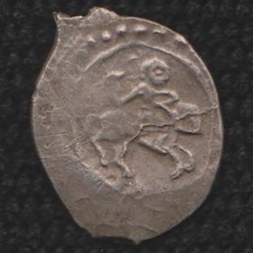 Монета Василия Темного князя Московского