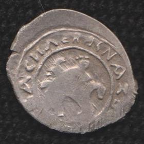 Деньга Темного с имитацией арабской надписи