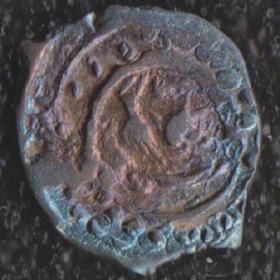 Монета Московского князя Василия Дмитриевича