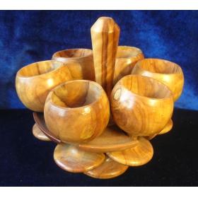 Рюмки деревянные