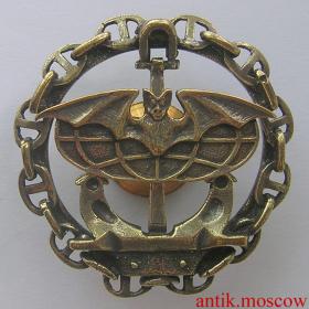 Знак спецназа ГРУ ВМФ - муляж